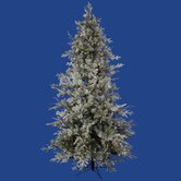 Frosted Wistler Fir 7.5' Artificial Christmas Tree with LED Lights
