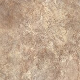 Ovations 14&quot; x 14&quot; Textured Slate Vinyl Tile in Sand