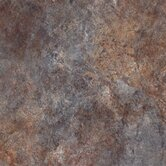 Ovations 14&quot; x 14&quot; Textured Slate Vinyl Tile in Bluestone