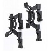 Bookshelf Speaker Wall Mount Pair in Black