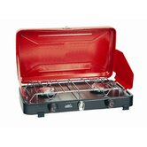 Rainier Dual Burner Compact Propane Stove