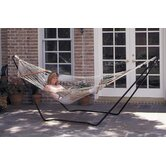 High Island Rope Hammock with Stand Combo