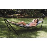Crystal Bay Fabric Hammock with Stand Combo