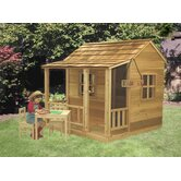 Little Squirt Playhouse with Three Window Openings Set