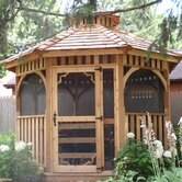 Gazebo Screen Kit Option