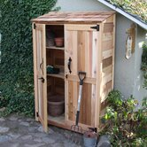 Garden Chalet Wood Lean-To Shed