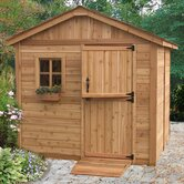 Gardener's Wood Garden Shed