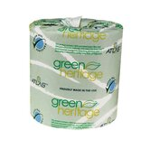 "Green Heritage Toilet 5"" Tissue, 2-Ply, 500/Roll"