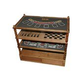 9 in 1 Combination Casino & Chess Set