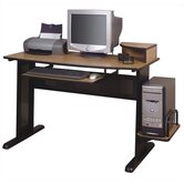 "Carina 54.5"" W Computer Desk with CPU Shelf"