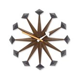 George Nelson Polygon Wall Clock