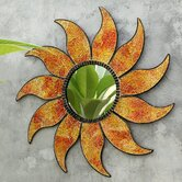 Mosaic Glass Sunface (Set of 2)