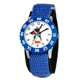 Kid's Hulk Time Teacher Watch in Blue