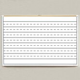 Porcelain Lifetime Penmanship Line Boards 4' x 10'