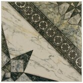 Augusta 12-1/2&quot; x 12-1/2&quot; Ceramic Floor and Wall Tile in Azul