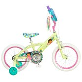 "Girls 16"" Dora Bike with Training Wheels"