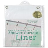 Extra Long Heavy Gauge Vinyl Shower Curtain Liner