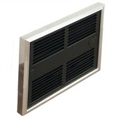 Low Profile Double - Pole ( 240v ) Commercial Fan Forced Wall Heater w/ Wall Box