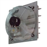 24&quot; Shutter Mounted Direct Drive Exhaust  Fan