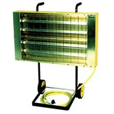 Suspended / Portable Quartz Infrared Heater w/ Optional Cart