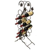 French Vineyard 12 Bottle Wine Rack