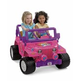 Power Wheels Barbie Jammin Jeep