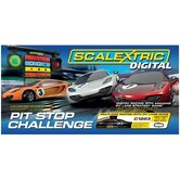 Digital Pit Stop Challenge Race Car Set