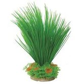 Natural Elements Hairgrass Aquarium Ornament in Green / Orange