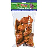 Naturals Porky Slices Rawhide Dog Treat (10-Pack)