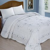 Embroidered Bedspread