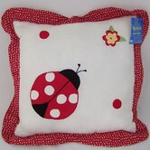 Lady Bug Yard Pillow