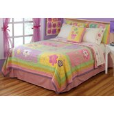 Sweet Helen Quilt with Pillow Sham, Sheet Set, Pillow, and Valance