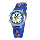 Kid's Mickey Mouse Time Teacher Watch in Blue