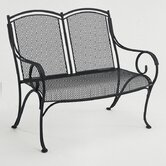 Modesto Wrought Iron Garden Bench