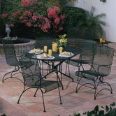 Windflower Mesh 5 Piece Dining Set