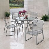 Wyatt Mesh 5 Piece Dining Set