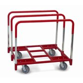 Panel Mover 5&quot; Quiet Poly Casters, All Swivel, 3 Standard Uprights