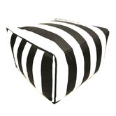 Striped Ottoman