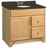 "Richland 36"" x 21"" Single Door Vanity Cabinet"