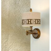 Modern Oval One Light Wall Sconce