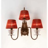 Classic Class Three Light Wall Sconce