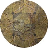 "Casual Fireside 27"" Round Rainforest Lazy Susan with Stand"