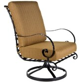 Classico Hi-Back Swivel Rocker Club Chair with Cushion