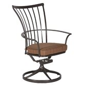 Monterra Swivel Dining Arm Chair with Cushion