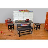 Drew Playtime 4 Piece Kids' Table Set