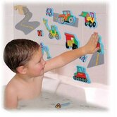 Magic Creations Road Construction Bath Set