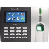 Time and Attendance Time Clock with Color Display, Fingerprint  and Touch Button