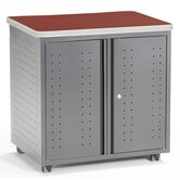 Executive Series Locking Mobile Utility Table
