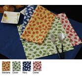 Denim Table Linen and Placemats Cercie Cocktail Napkin (Set of 2)
