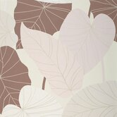 Barbara Becker Raised Surface Banana Leaves Collage Wallpaper